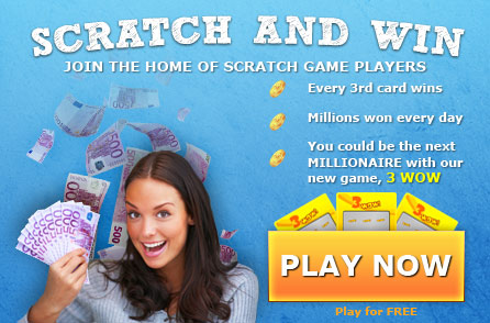 Scratch cards online, Flash Scratch games, Scratch off tickets, Scratchcards, Scratchies, scratchcardheaven.com