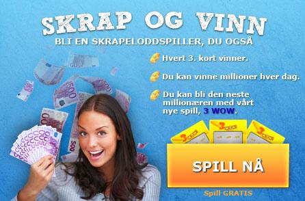 Skrapekort på Internett, skrapespill, skrapelodd, skrapekort, skrapekortspill, scratchcardheaven.com