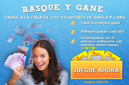 Tarjetas de rascar y ganar online, Rasca-gana en FlashTarjetas de rascar, Rascaditas, Raspadura, scratchcardheaven.com
